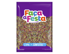 Miçanga Colorida 4 Cores 500g